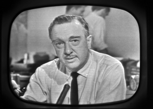 Walter Cronkite-CBS News Anchor