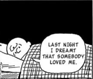 """Last night I dreamt somebody love me."" Smiths lyrics"
