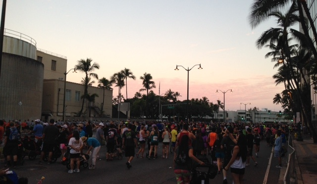 Breakn' a Sweat-Great Aloha Run 2015