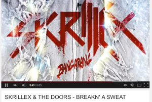 Skrillex and The Doors-Breakn' a Sweat